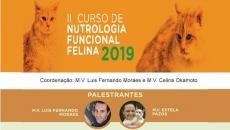II Curso de Nutrologia Funcional Felina 2019