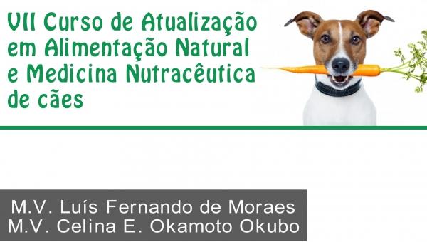 VII Alim. Natural e Med. Nutrac. de Cães - 2018