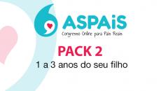 ASPAiS - Pack 2: 1 aos 3 anos do seu filho